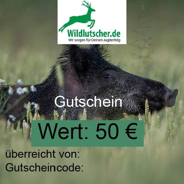 shopping voucher 50 Euro